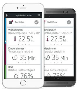 alphaEOS Komponente App